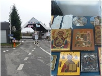 Michalovskí colníci odhalili nezákonný dovoz ikon z Ukrajiny.