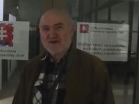 Ján Molnár ako kandidát na prezidenta.