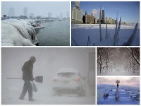 Nebezpečné mrazy v USA