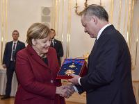 Angela Merkelová a Andrej Kiska