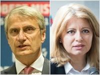 Robert Mistrík a Zuzana Čaputová