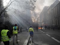 Vo Francúzsku sa opäť konajú protesty žltých viest