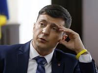 Kandidát na ukrajinského prezidenta Volodymyr Zelenskyj.