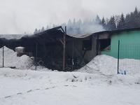 Požiar v Ľubovnianskych kúpeľoch