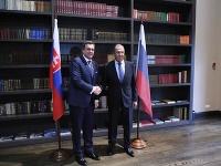 Andrej Danko a Sergej Lavrov