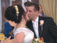 Valentín v Teleráne sa niesol v duchu svadby.