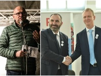 Richard Sulík, Ivan Štefunko a Miroslav Beblavý