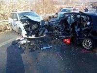 Dopravná nehoda pri Veľkom Šariši