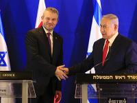 Peter Pellegrini počas návštevy Izraelu.
