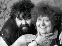 Helena Růžičková so synom Jiřím Růžičkom.