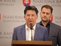 Ján Budaj a Igor Matovič