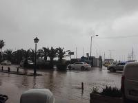 Ostrov Kréta opäť zasiahli silné dažde a záplavy.