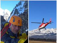 Pád lavíny sa stal osudným horskému záchranárovi.