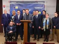 Igor Matovič predstavil kandidátov OĽaNO do eurovolieb.