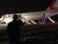 Problémy malo lietadlo už pri štarte.