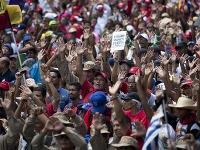 Vo Venezuele pretrváva stále napätá situácia.