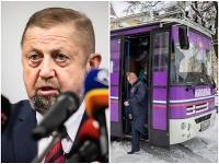 Štefan Harabin čelí ohľadom autobusu prezidentskej kampane ďalším komplikáciám.