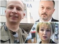 Martin Daňo, Milan Krajniak a Bohumila Tauchmannová