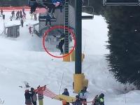 Záchrana v lyžiarskom stredisku vo Vancouveri.