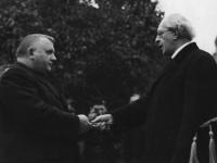 Jozef Tiso (vľavo) a Vojtech Tuka