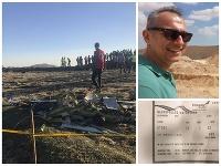 Antonis Mavropoulos ukázal na Facebooku aj svoj palubný lístok.