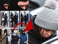Alena Zsuzsová vypovedala na NAKA v Nitre v súvislosti s vraždou exprimátora Hurbanova.