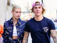 Justin Bieber s manželkou Hailey.