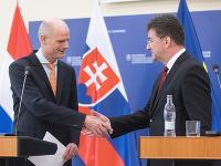 Miroslav Lajčák a Stef Blok