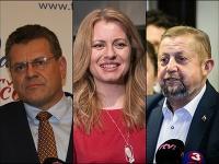V prezidentskom dueli sa o dva týždne stretnú Maroš Šefčovič a Zuzana Čaputová.
