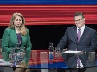 Zuzana Čaputová a Maroš Šefčovič
