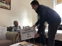 Odvolila aj 103 ročná Žofia Michňáková v obci Malý Šariš