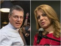 Maroš Šefčovič a Zuzana Čaputová
