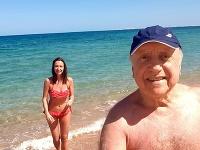 Slováček s Gelemovou odišli do Egypta užiť si teplo a more.