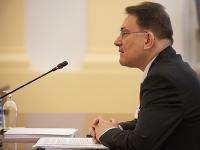 Kandidát na post ústavného sudcu SR Pavol Boroň počas vypočutia Ústavnoprávnym výborom Národnej rady SR