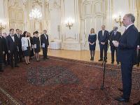 Andrej Kiska počas príhovoru pred vymenovaním profesorov vysokých škôl