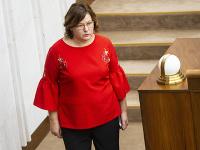 Poslankyňa NR SR Anna Verešová.