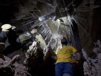 Vedci objavili najväčšiu soľnú jaskyňu na svete
