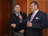 Peter Kažimír a Maroš Šefčovič