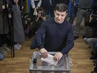ukrajinský komik a kandidát na ukrajinského prezidenta Volodymyr Zelenskyj