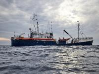 Loď Sea-Watch, ktorá zachránila migrantov.
