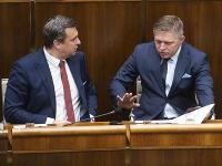 Andrej Danko a Robert Fico