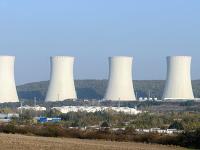 Na archívnej snímke dostavba tretieho a štvrtého bloku jadrovej elektrárne Mochovce.