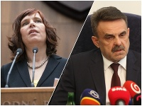 Veronika Remišová a Jaromír Čižnár