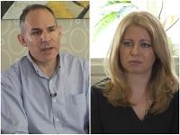 Rob Cameron a Zuzana Čaputová