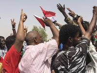 protesty v Sudáne