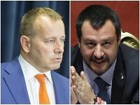 Boris Kollár a Matteo Salvini