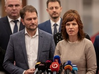 Igor Matovič a Veronika Remišová