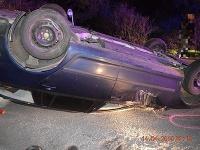 Vážna dopravná nehoda pri obci Muľa.