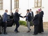 Andrej Kiska,  János Áder, stretnutie
