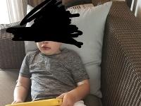 Zranený chlapec